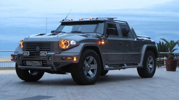Photo free kombat, jeep, gray