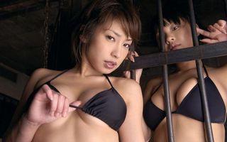 Фото бесплатно глаза, грудь, азиатка