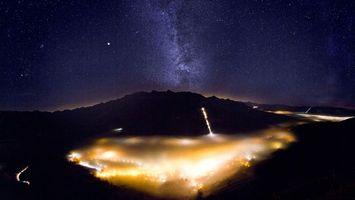 Бесплатные фото небо,звезды,млечный,путь,горы,фото,улица
