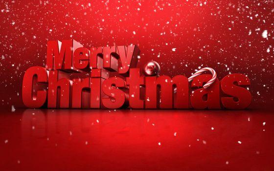 Бесплатные фото поздравление,надпись,слова,снег,фон,красный,с рождеством,новый год,настроения,праздники