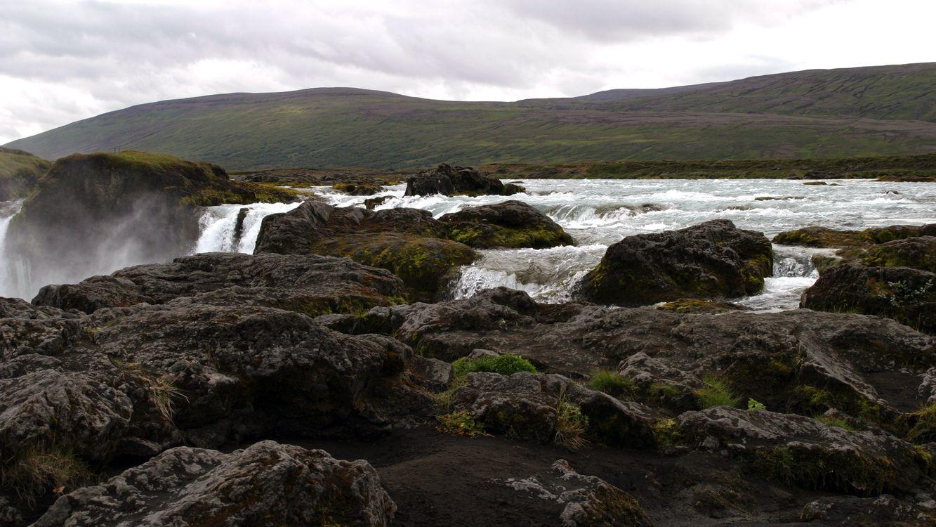 Фото бесплатно река, вода, камни - на рабочий стол