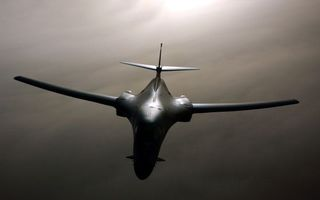 Фото бесплатно самолет, rockwell, b-1