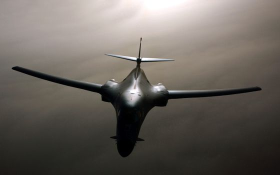 Photo free plane, rockwell, b-1