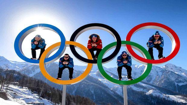 Photo free Sochi, 2014, rings