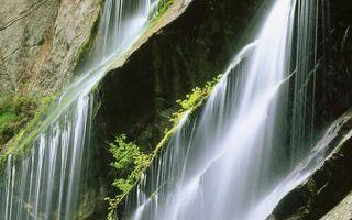 Бесплатные фото водопад,вода,капли,брызги,камни,скала,гора