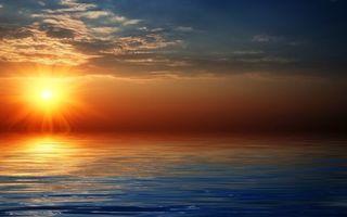 Бесплатные фото закат,вечер,сумерки,солнце,небо,облака,море