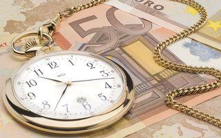 Бесплатные фото часы карманные,цепочка,циферблат,стрелки,деньги,евро,купюры
