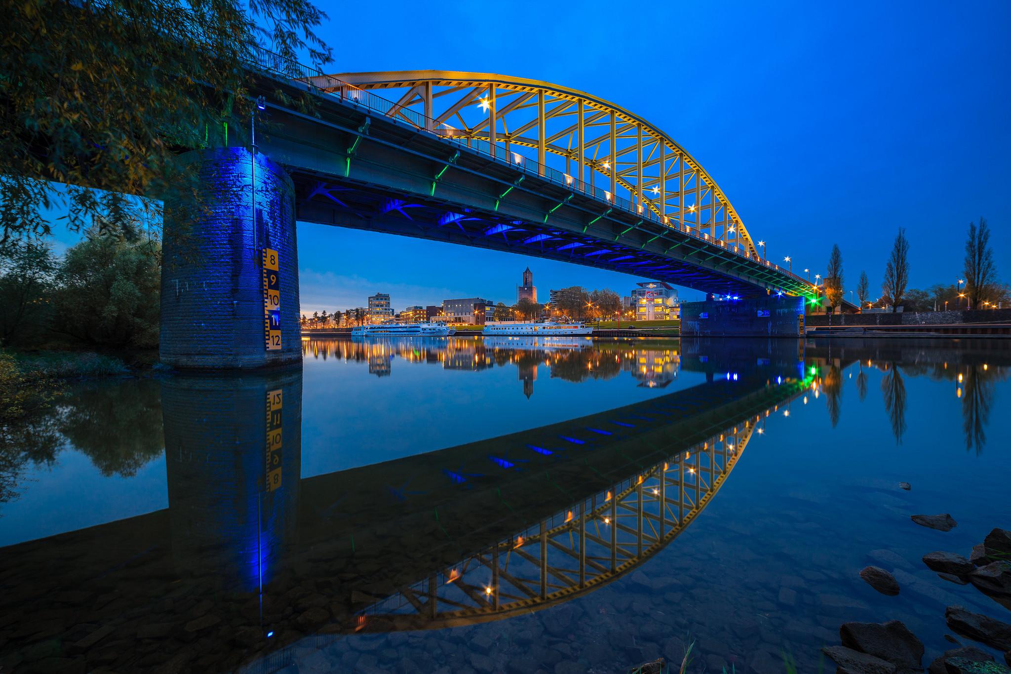 обои Рейн, Гельдерланд, Арнем, Нидерланды картинки фото