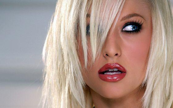 Бесплатные фото Gorgeous blonde face