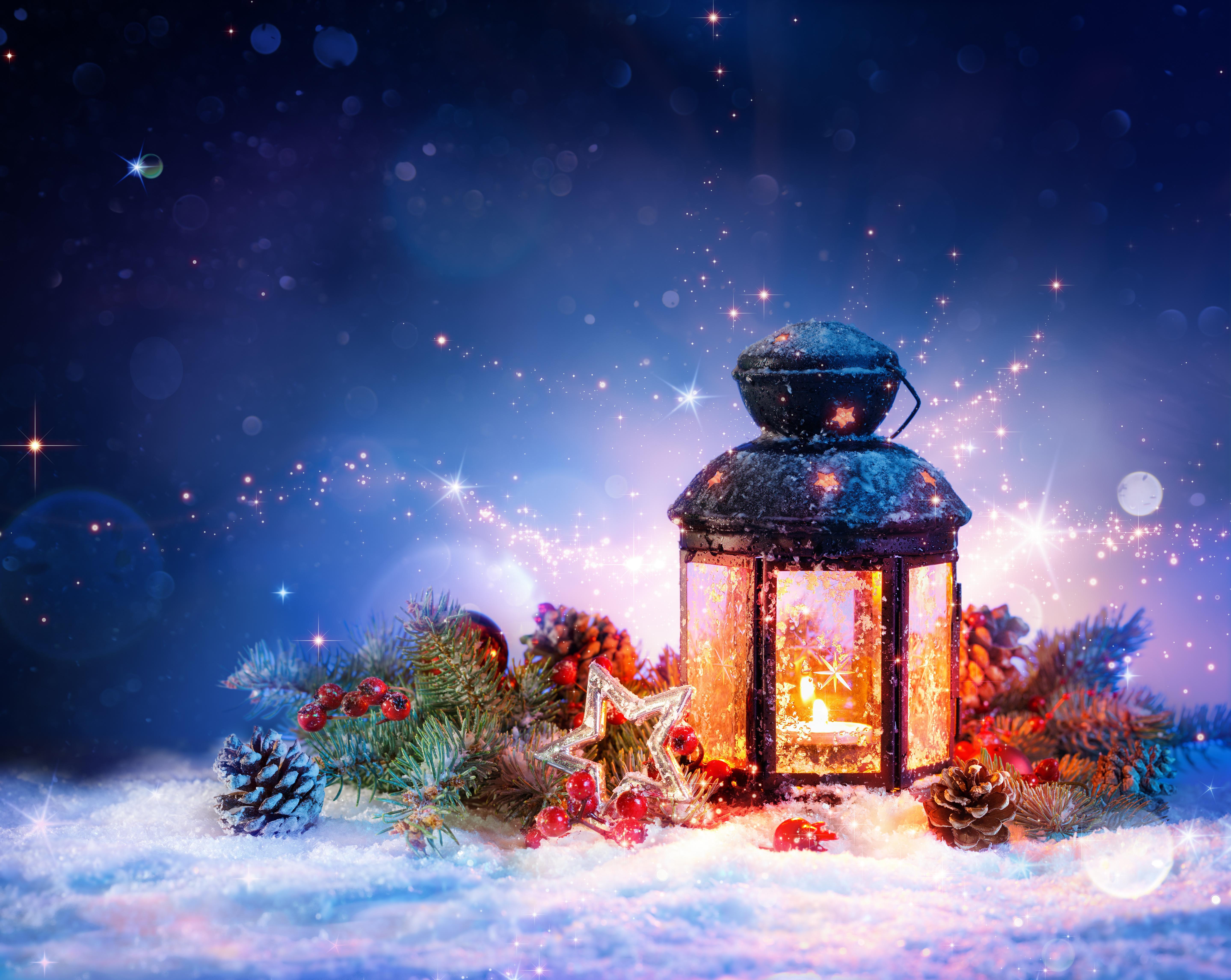 обои новый год, новогодние обои, лампа, снег картинки фото