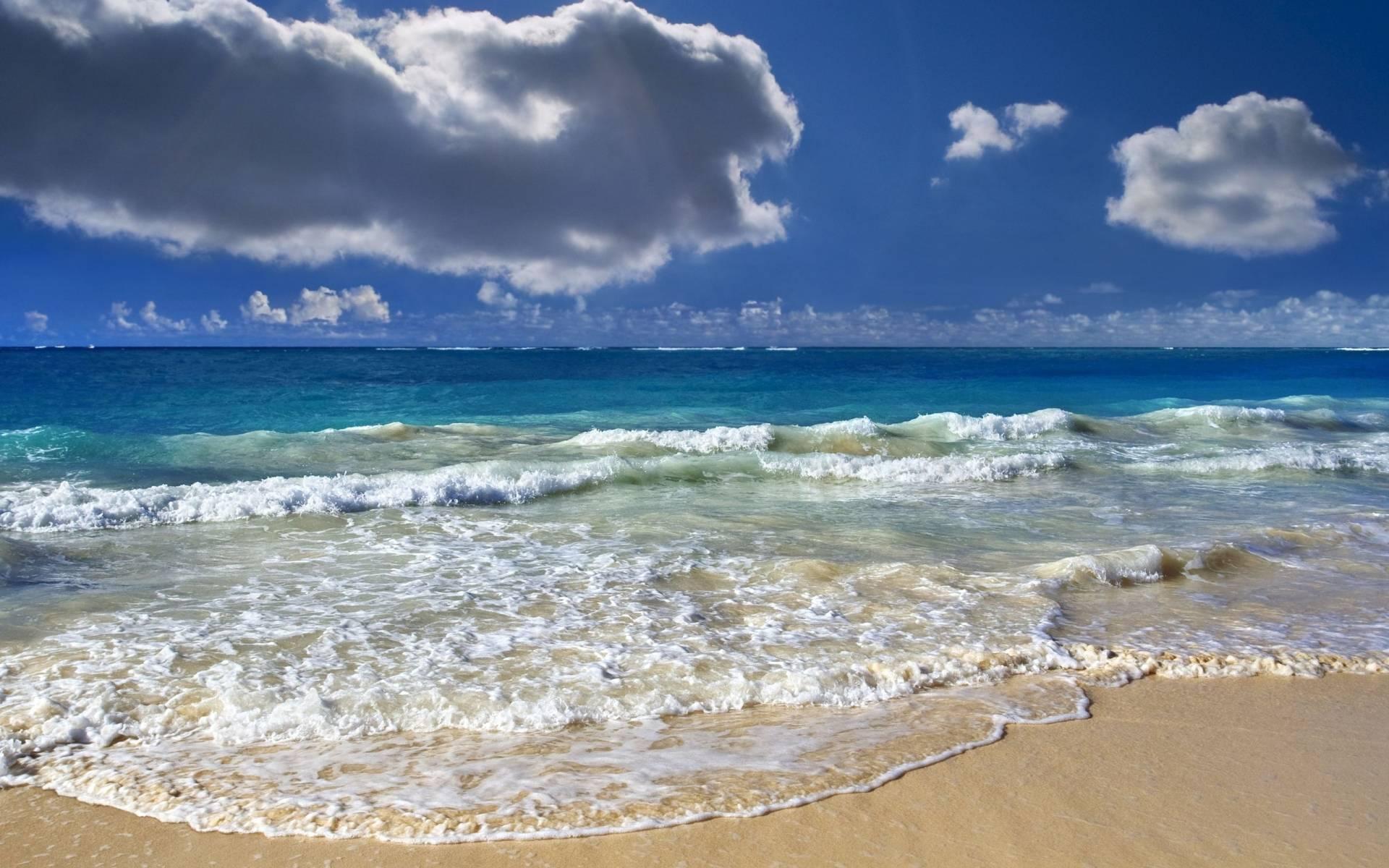 Море океан пляж фото
