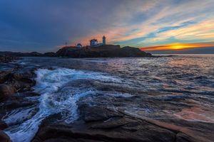 Photo free landscape, sunset, USA