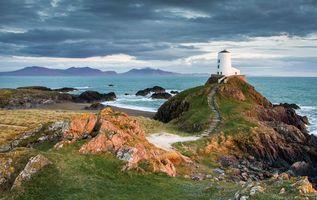 Фото бесплатно остров влюбленных инис хландуйн, ynys llanddwyn, Англси
