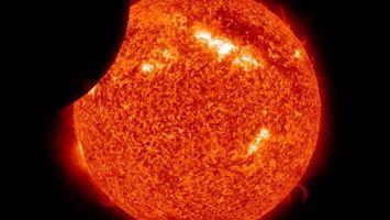 Фото бесплатно солнце, звезда, затмение