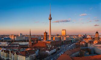Фото бесплатно огни, Германия, Столица