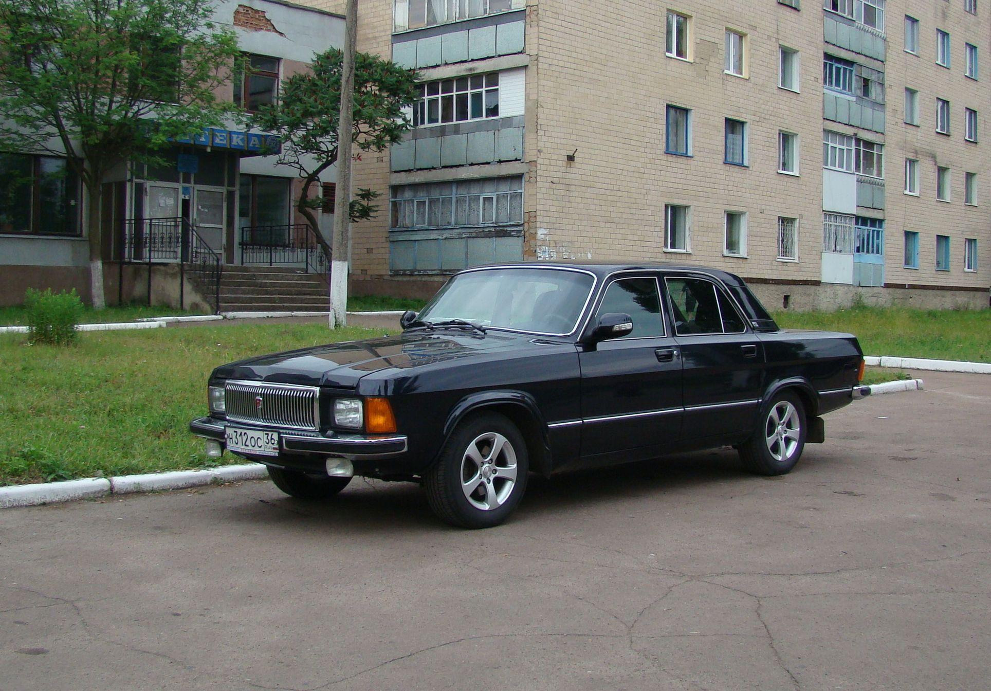 обои ГАЗ, Волга, чёрный картинки фото