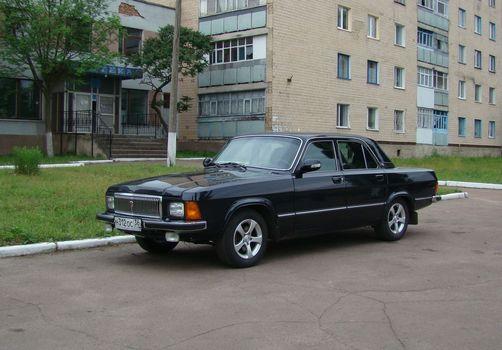 Заставки ГАЗ, Волга, чёрный