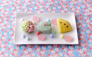 Бесплатные фото сладость,конфеты,мармелад,цветные,форма,разная