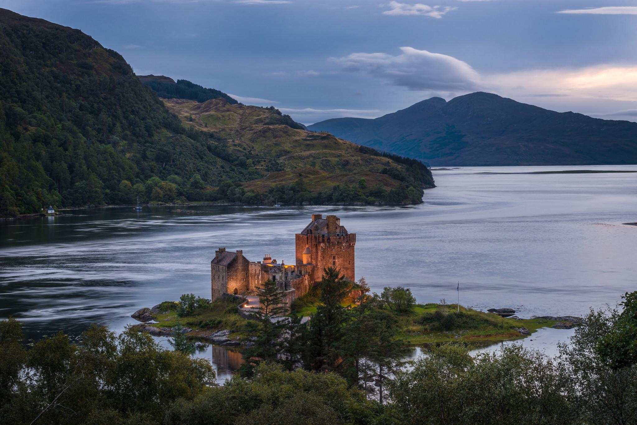 Eilean Donan, Замок, руины
