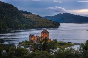 Бесплатные фото Eilean Donan,Замок,руины,Северная Шотландия,Британия,Великобритания
