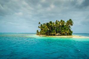 Заставки Панама, остров, пляж