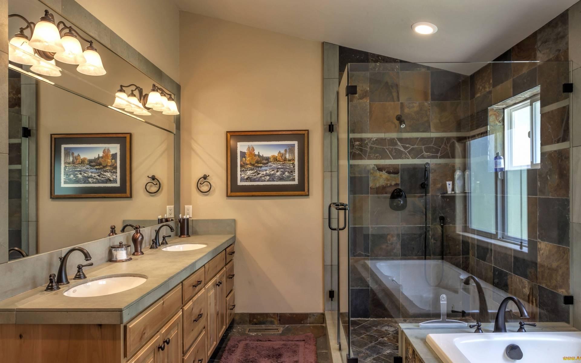 ванная комната, дизайн, раковины