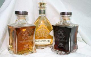виски, glenglassaugh, бутылки, разная выдержка, алкоголь