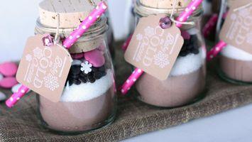 Бесплатные фото десерт,йогурт,шоколад,конфеты