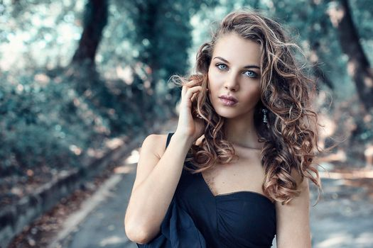 Photo free face, make-up, mood
