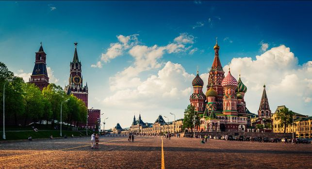 Photos on display in russia, the kremlin