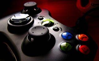 Photo free joystick, buttons, hi-tech