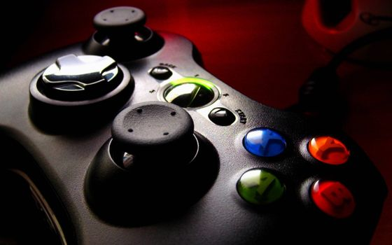 Photo free joystick, buttons