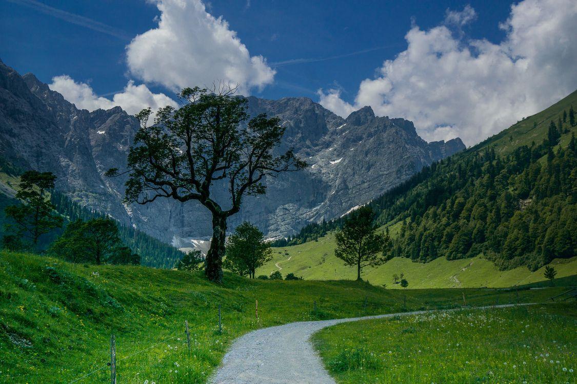 Фото бесплатно Karwendel, Austria, горы - на рабочий стол