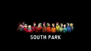 Фото бесплатно саус парк, мультфильм, южный парк