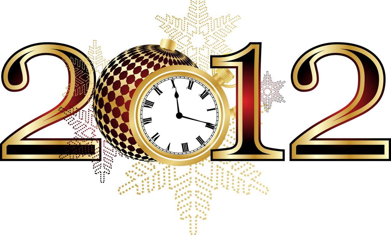 Фото бесплатно 2012, цифры, будильник, новый год, новый год