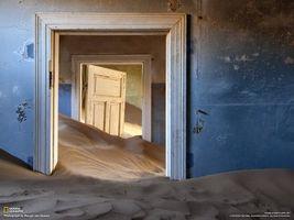 Фото бесплатно комната, погребена, песком