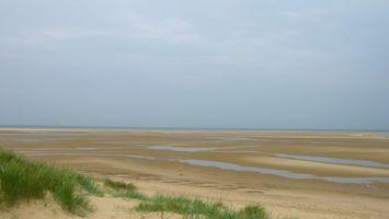 Бесплатные фото засуха,песок,трава,вода,горизонт,небо,пейзажи