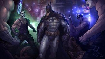 Бесплатные фото бэтмен,костям,злодеи,бита,маски,руки,мультфильмы