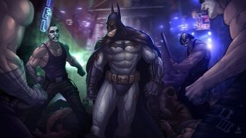 Photo free Batman, Bones, villains