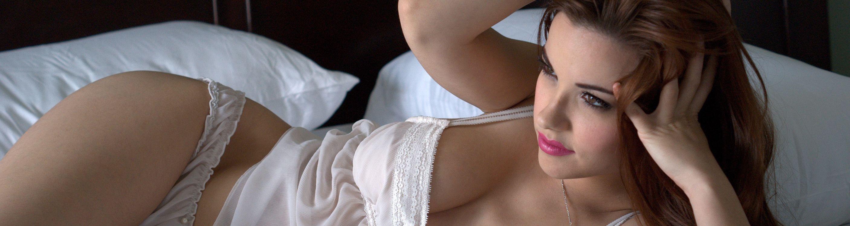 Фото бесплатно девушка, спальня, шатенка - на рабочий стол