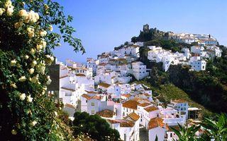 Бесплатные фото дома,небольшие,небо,деревья,холмы,трава,город