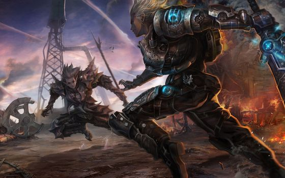 Photo free fight, fantasy, weapon