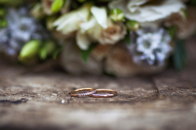 кольца, свадьба, золото