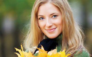 Бесплатные фото лицо, глаза, губы, литься, блондинка, красивая, девушки