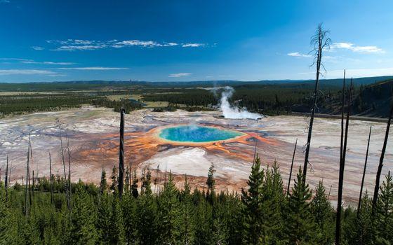 Photo free National, Yellowstone Park, USA