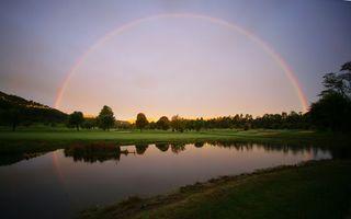 Фото бесплатно озеро, вода, трава