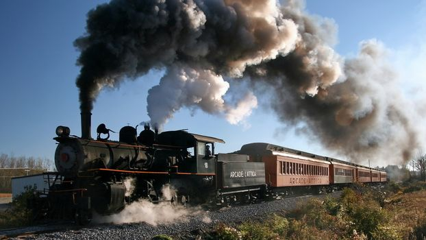 Photo free locomotive, pipe, smoke