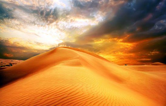 Фото бесплатно пейзаж, пустыня, песок