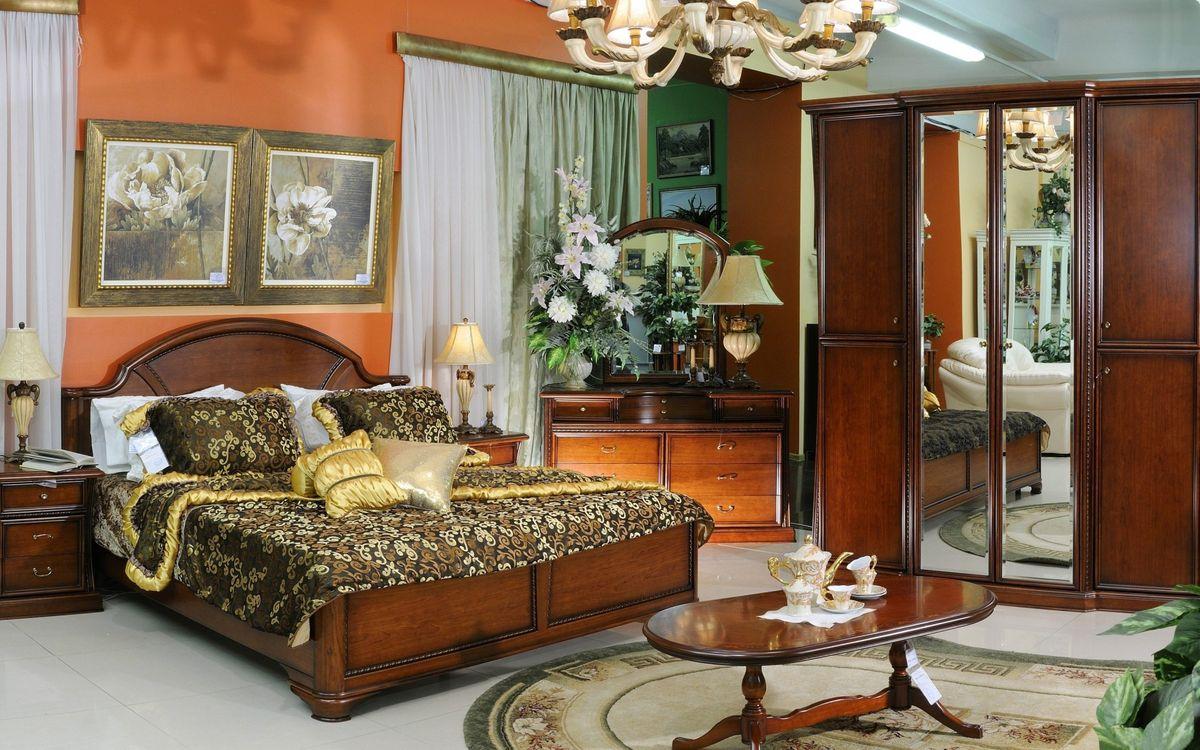Обои спальня, комната, кровать картинки на телефон