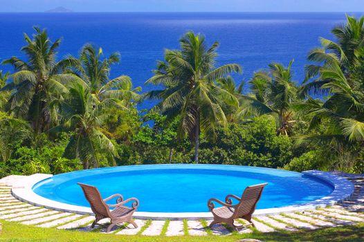 Фото бесплатно бассейн, пейзажи, море